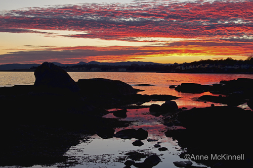 Sunset at Gonzales Bay, Victoria, BC