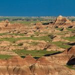 Buttes and Spires in Badlands National Park