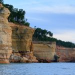 Battleship Rocks Lake Superior