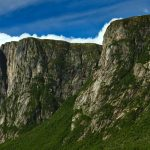 Cliffs at Western Brook Pond