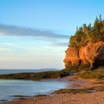 Two (more) perspectives on Hopewell Rocks