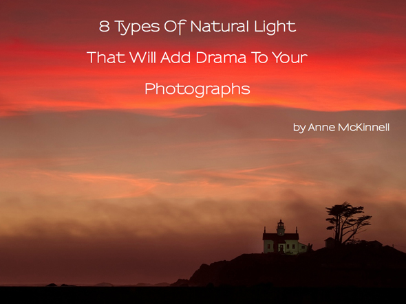 8 Types of Natural Light eBook Cover