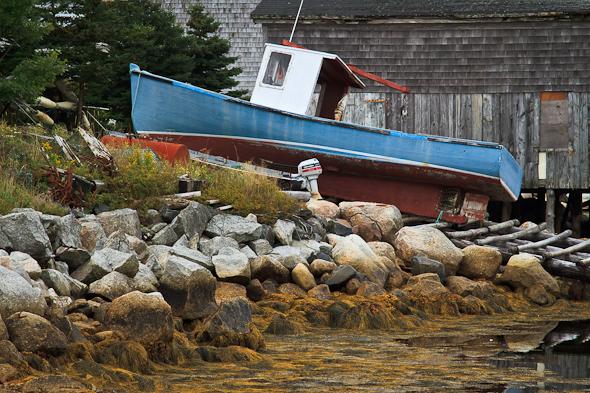 Fishing boat in Nova Scotia, Canada
