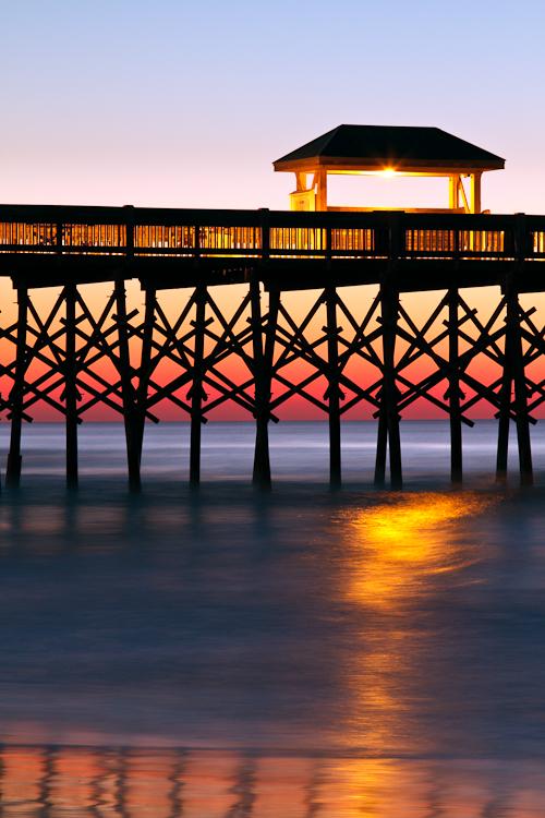 Folly Beach Pier Charleston South Carolina