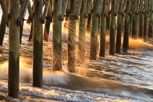 Folly Beach Pier, Charleston, South Carolina