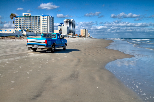 Big Baby Blue on Daytona Beach
