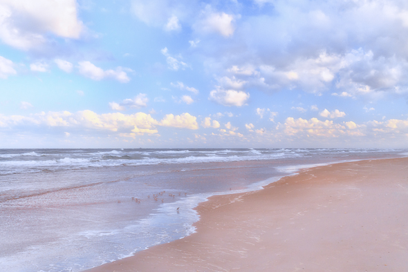 Ormond Beach Abstract