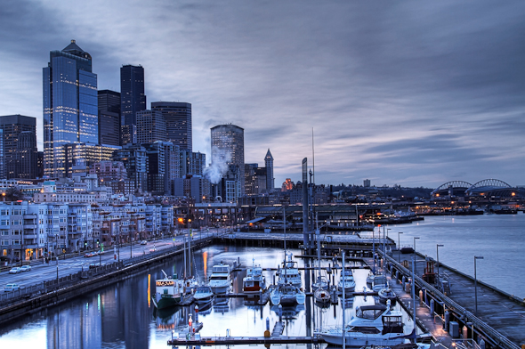 Bell Harbor Marina, Seattle