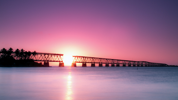 Bahia Honda Rail Bridge, Florida Keys