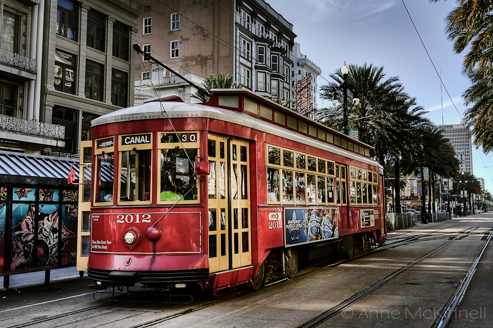 new orleans streetcar anne mckinnell photography. Black Bedroom Furniture Sets. Home Design Ideas