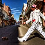 Street Buskers in New Orleans