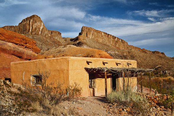 Contrabando Movie Set, Big Bend State Park, Texas