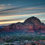 Last Sunset in Sedona, Arizona