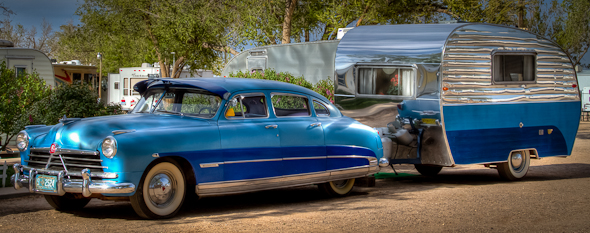 1950 Hudson Commodore with 1954 VaKaShunette