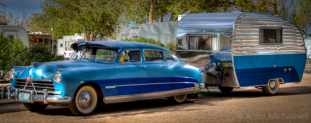 Route Vintage Car And Trailer Anne Mckinnell Photography