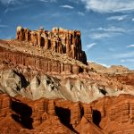The Castle at Capitol Reef
