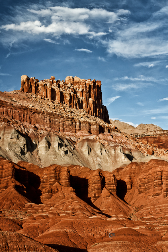 The Castle, Capitol Reef National Park, Utah