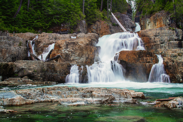 Lower Myra Falls, Strathcona Park, British Columbia