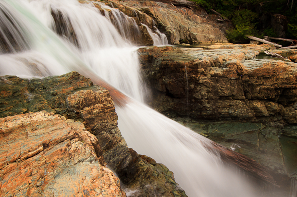 Lower Myra Falls, Strathcona Park, British Columbia