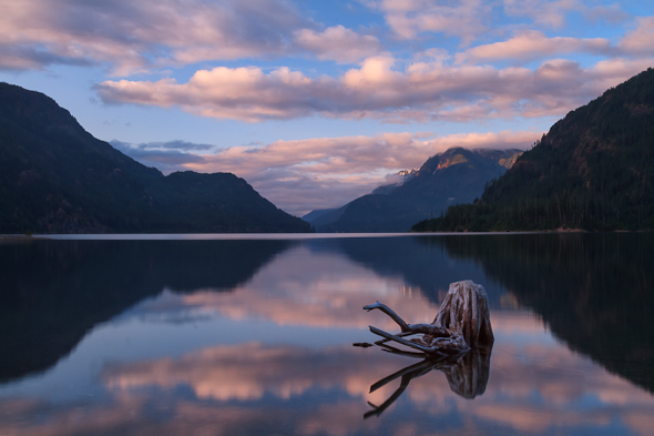 Buttle Lake, Strathcona Park, Vancouver Island, British Columbia