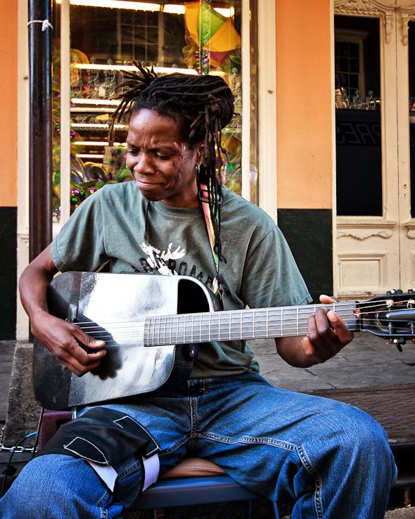 New Orleans Street Busker