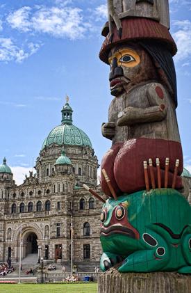 Victoria Legislature Totem