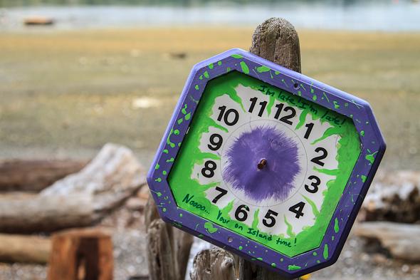 Island Time, Rebecca Spit, Quadra Island, BC