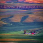 Sunset on Palouse, Washington