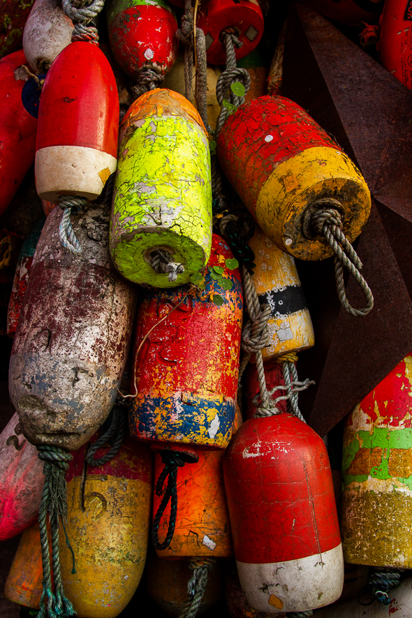 Buoys, Newport, Oregon