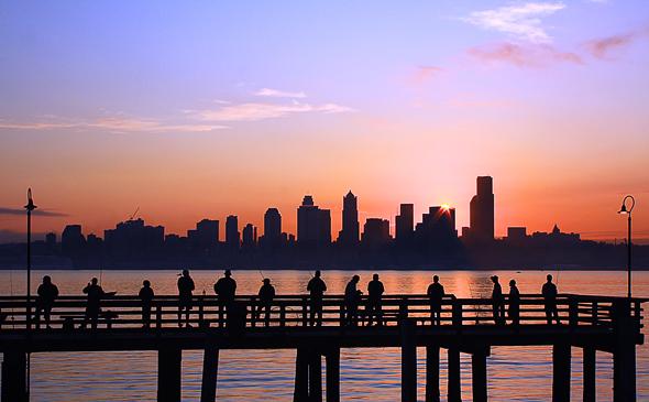 Elliott Bay, Seattle, Washington