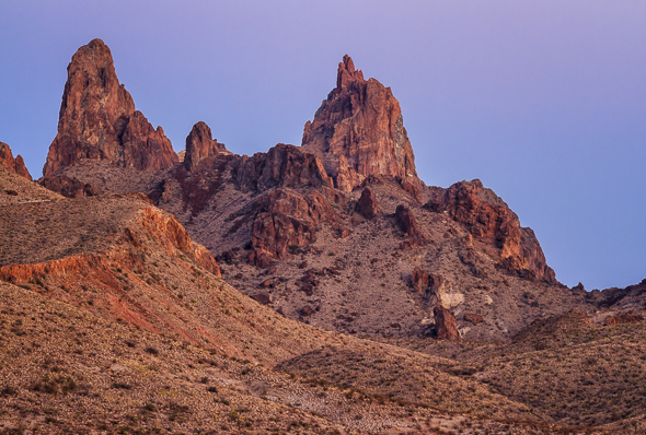 Mule Ears, Big Bend National Park, Texas