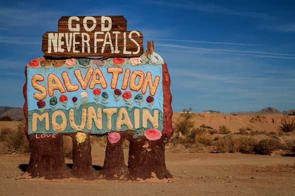 Welcome to Salvation Mountain