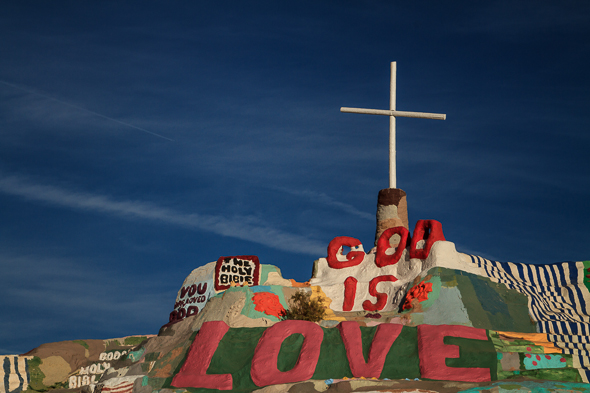 Salvation Mountain, Slab City, California