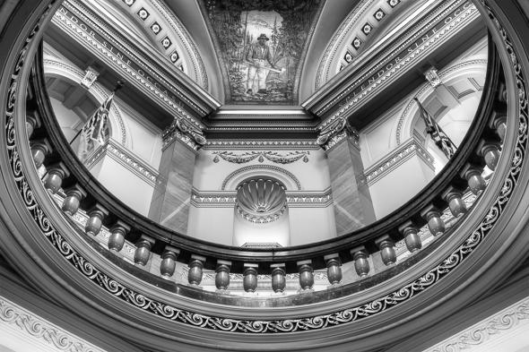 The Legislature Rotunda, Victoria, BC, Canada