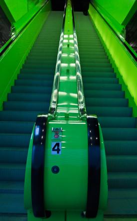 Escalator, Seattle Library