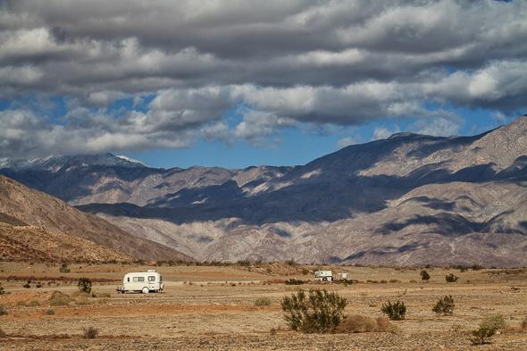 Boondocking in Anza-Borrego Desert State Park
