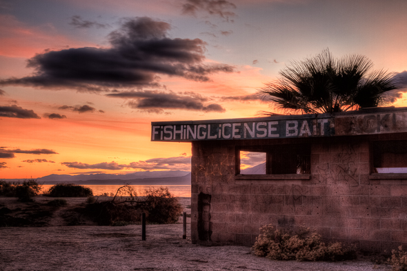 The Fishing Shack, Salton Sea, California
