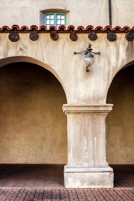 Archway in Balboa Park, San Diego by Anne McKinnell
