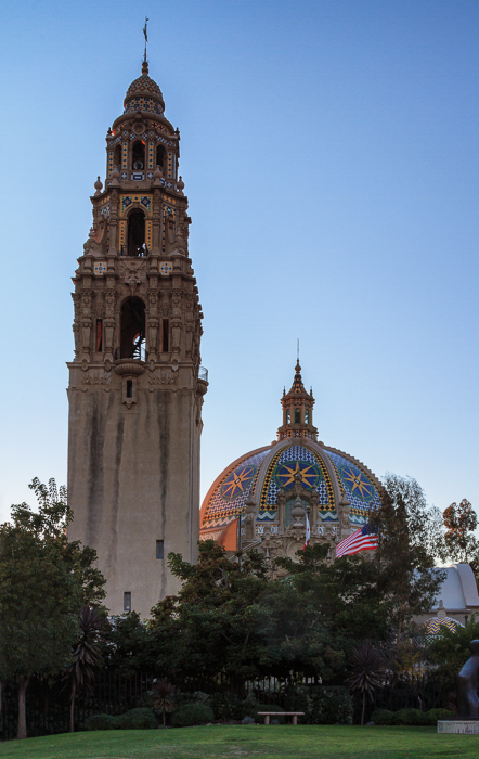 California Tower and Museum of Man, Balboa Park by Anne McKinnell