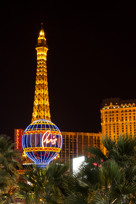 Paris Hotel, Las Vegas by Anne McKinnell