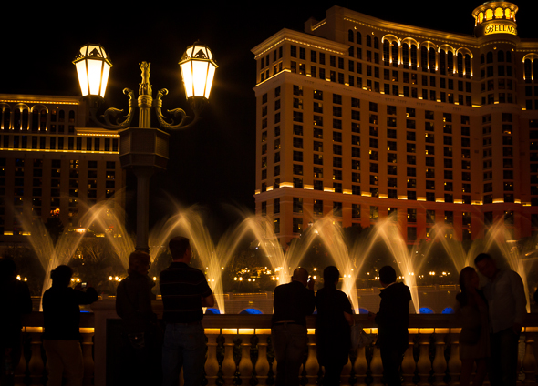 Fountains of Bellagio, Las Vegas, by Anne McKinnell