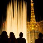 Fountains of Bellagio, Las Vegas, by Anne McKinnell