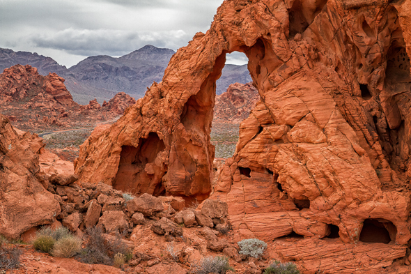 The Valley of Fire, Nevada, by Anne McKinnell