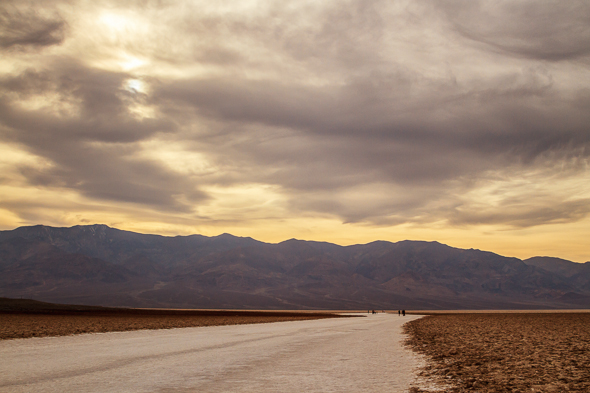 Badwater Basin, Death Valley National Park, California by Anne McKinnell
