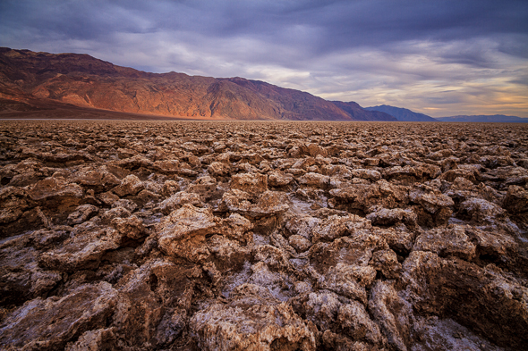 Devils Golf Course, Death Valley National Park, California, by Anne McKinnell.