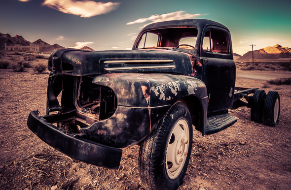 Rhylote Ghost Town, Nevada, by Anne McKinnell