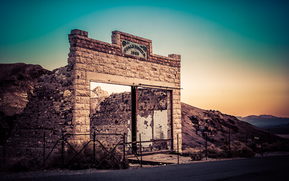 Rhylote Ghost Town, Nevada, by Anne McKinnell