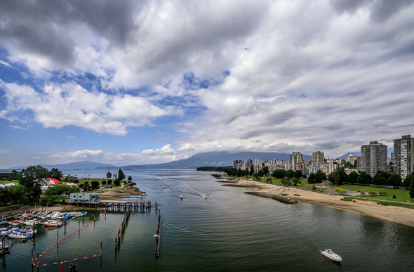 English Bay, Vancouver, British Columbia by Anne McKinnell