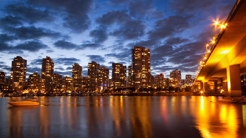 Cambie Street Bridge, Vancouver, British Columbia by Anne McKinnell