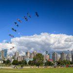 Kite Festival in Vanier Park, Vancouver